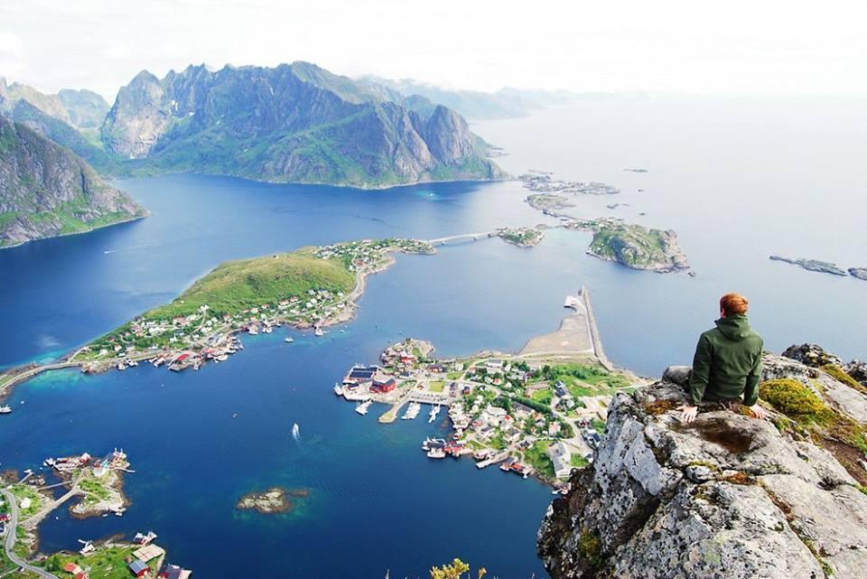 Mount Reinebringen, Norway